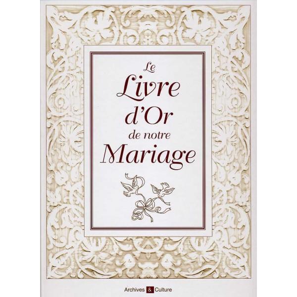 Le livre d 39 or de notre mariage librairie g n alogique de for Le livre de mariage