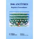 2046 ancêtres registre d'ascendance