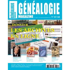 Généalogie Magazine N° 347-348
