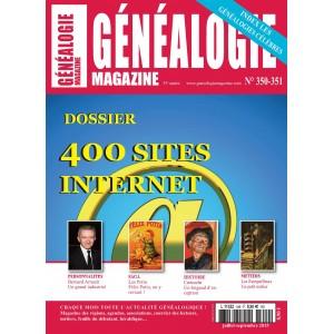 Généalogie Magazine N° 350-351