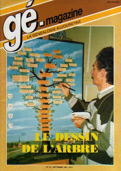 Généalogie Magazine n° 053 - septembre 1987