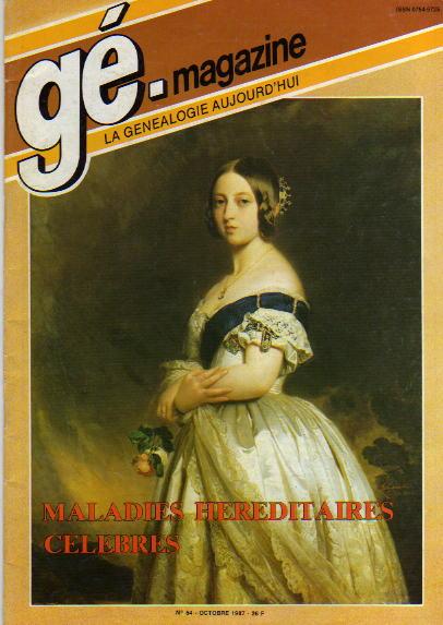 Généalogie Magazine n° 054 – octobre 1987