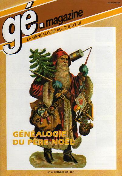 Généalogie Magazine n° 056 – décembre 1987