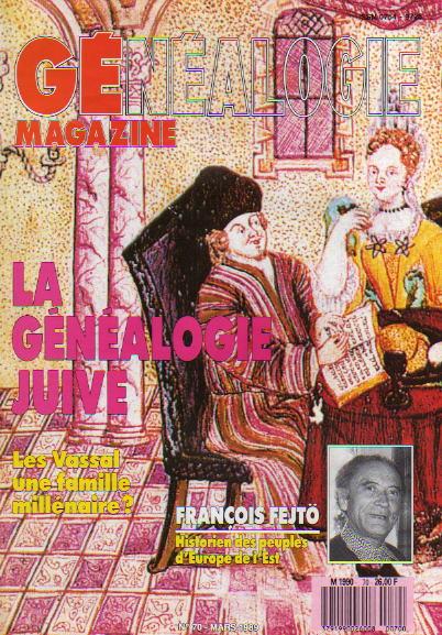 Généalogie Magazine n° 070 – mars 1989