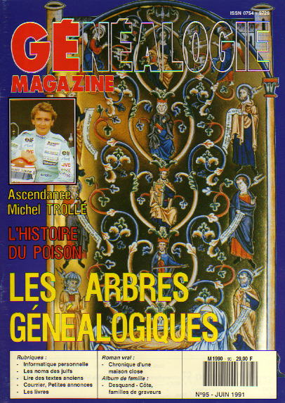 Généalogie Magazine n° 095 – juin 1991