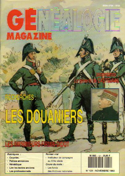 Généalogie Magazine n° 121 – novembre 1993