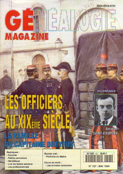 Généalogie Magazine n° 127 - mai 1994