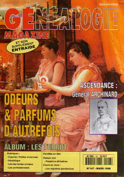 Généalogie Magazine n° 147 - mars 1996