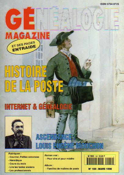 Généalogie Magazine n° 169 - mars 1998