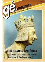 Généalogie Magazine n° 021 - septembre 1984