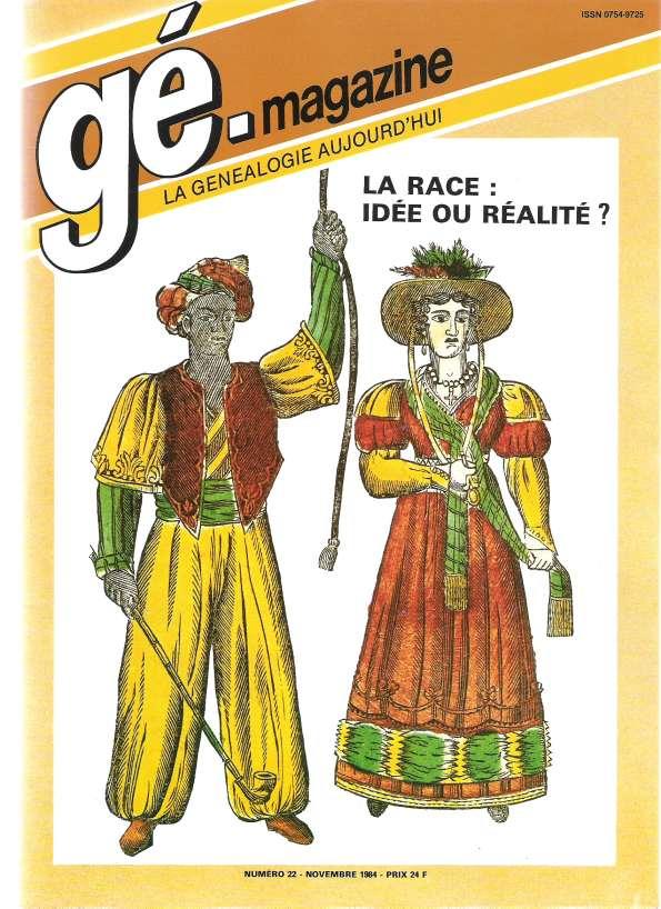 Généalogie Magazine n° 022 - octobre 1984