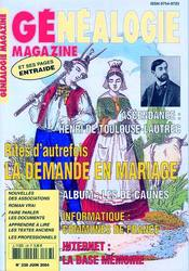 Généalogie Magazine N° 238 - Juin 2004