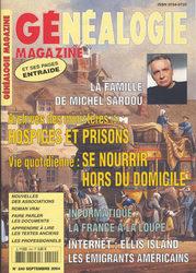 Généalogie Magazine N° 240 - Septembre 2004
