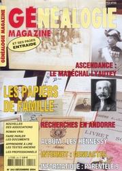 Généalogie Magazine N° 243 - Décembre 2004
