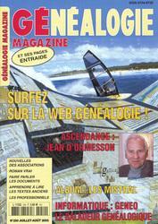 Généalogie Magazine N° 250 - Juillet-Août 2005