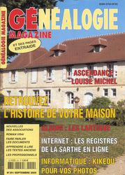 Généalogie Magazine N° 251 - Septembre 2005