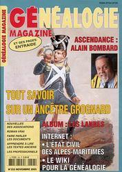 Généalogie Magazine N° 253 - Novembre 2005