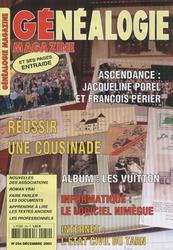 Généalogie Magazine n° 254 - Décembre 2005