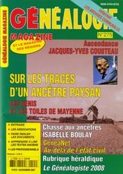 Généalogie Magazine N° 275 - Novembre 2007
