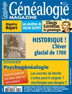 Généalogie Magazine N° 277 - Janvier 2008