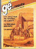 Généalogie Magazine n° 042 – juillet-août 1986
