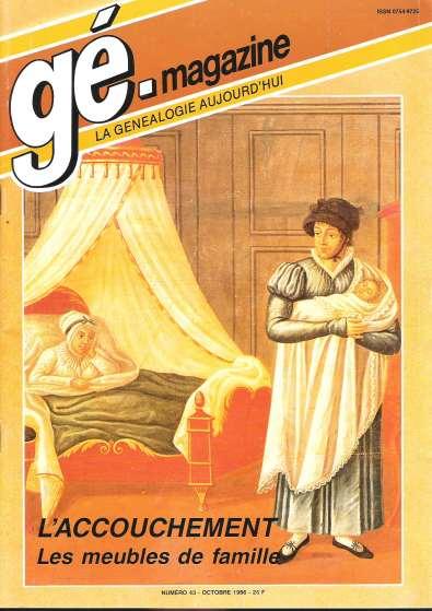 Généalogie Magazine n° 043 – septembre 1986