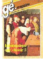Généalogie Magazine n° 049 – mars 1987