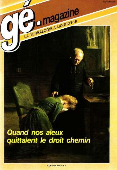Généalogie Magazine n° 050 – avril 1987