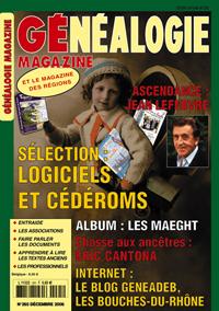 Généalogie Magazine n° 265 - décembre 2006
